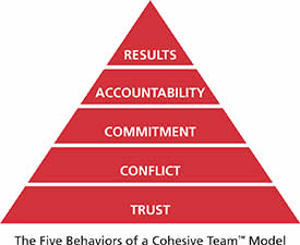 Five Behaviours of a Cohesive Team - BHR Training
